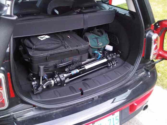 2011 MINI Cooper Clubman Review rear cargo