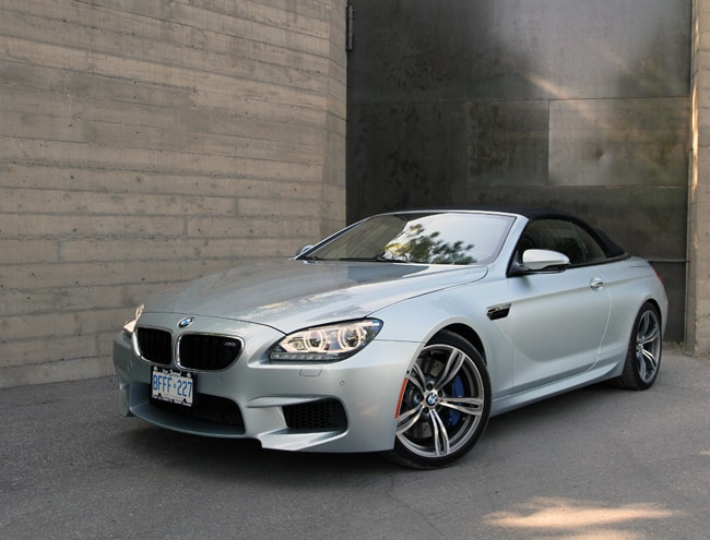 2013 BMW M6 Cabriolet Review: 560-hp German Open-Air Fun