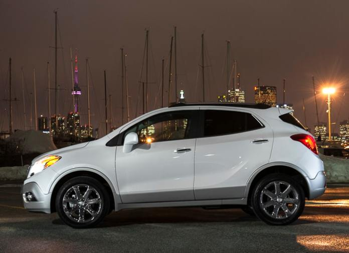 First Look 2013 Buick Encore Compact Luxury For Under