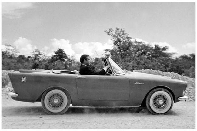 Best Bond Cars 10 Sunbeam_Alpine