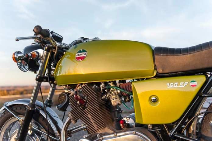 1972 laverda 750 sf motorcycle