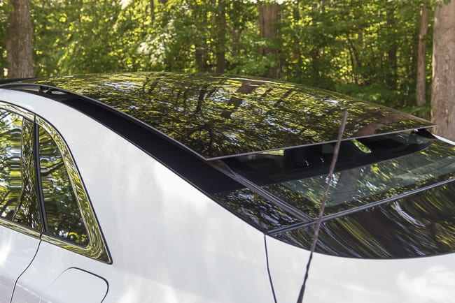 2013 Lincoln MKZ Hybrid Review-sunroof