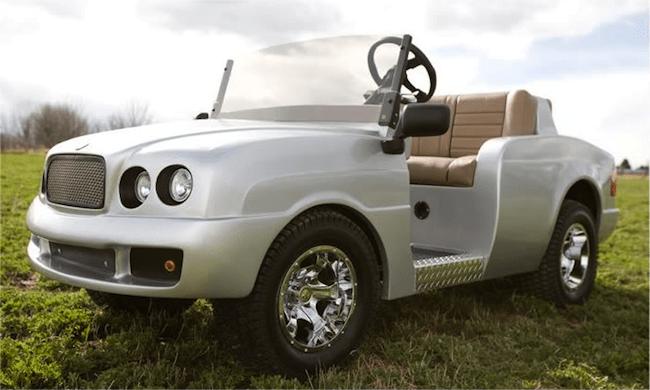 Pennwick Custom Golf Carts-bentley