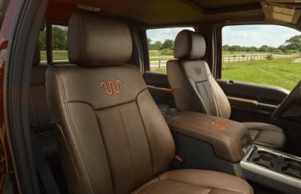 2015 Ford F-250 seats