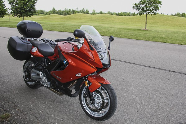 2013 BMW F800GT Review