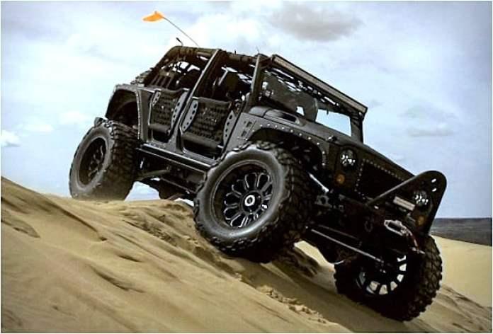 Starwood Full Metal Jacket Jeep Wrangler