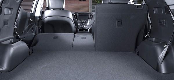2013 Hyundai Santa Fe XL Luxury AWD Review-cargo
