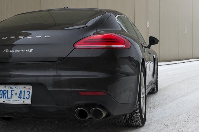 2014-Porsche-Panamera-4S rear black
