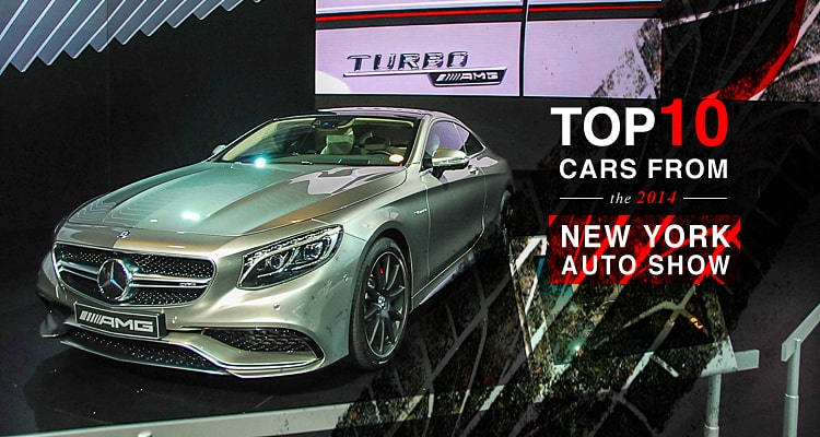 top 10 2014 new york auto show
