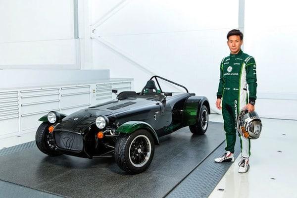 2014-caterham-seven-250r-kamui-edition-driver-Kamui Kobayashi
