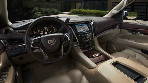 2015 Cadillac Escalade Review interior medium tone