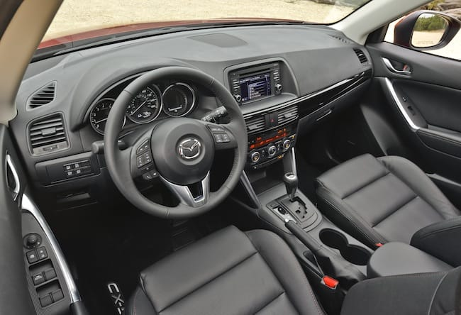2015 mazda CX-5 GT review cabin
