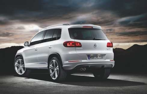 2015 VW Tiguan with R-Line appearance package rear
