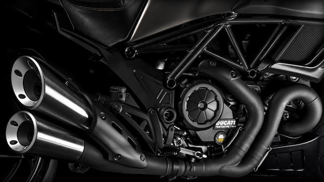 2015 Ducati Diavel Titanium Limited Edition