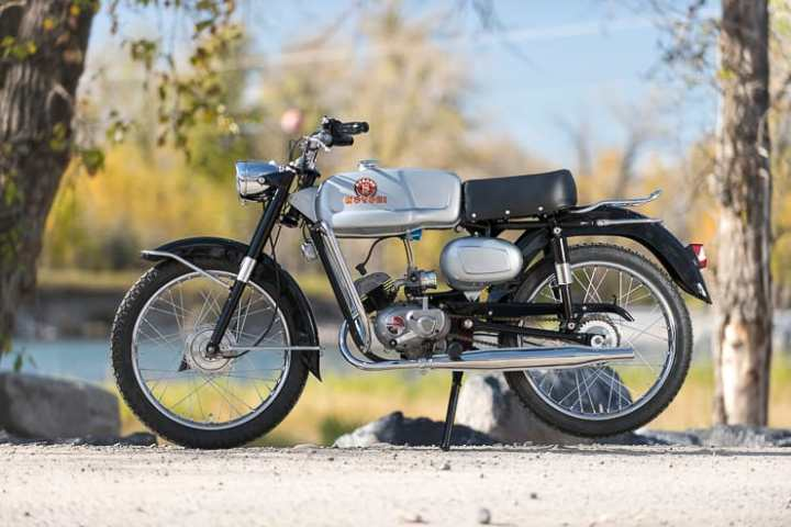 This 1965 Motobi Motorcycle is the Family Jewel