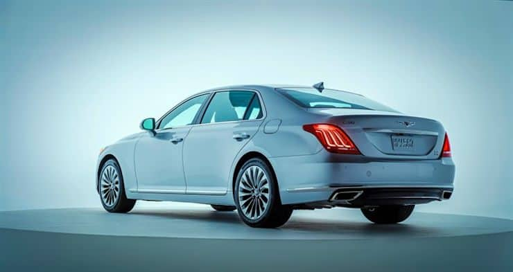 2017 genesis g90 with 420 hp launches as flagship vehicle. Black Bedroom Furniture Sets. Home Design Ideas