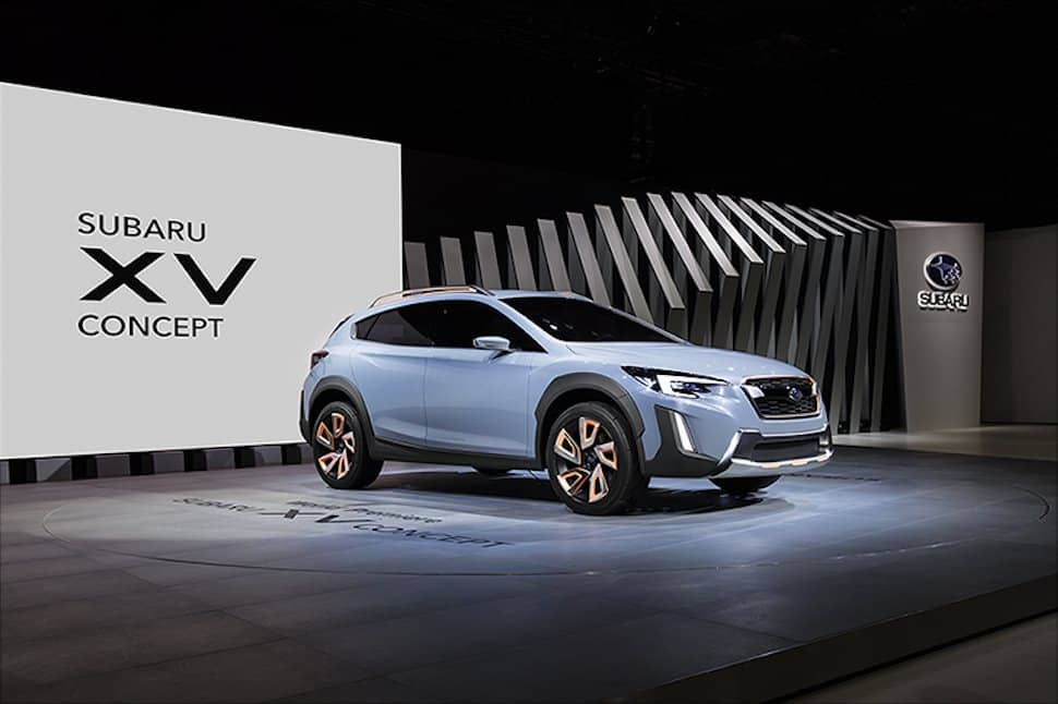 Subaru XV Concept debuts at 2016 Geneva Motor Show