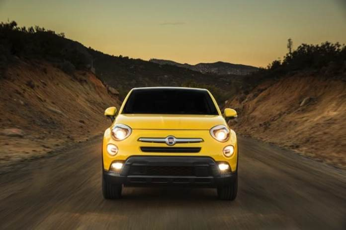 2016 fiat 500x review frontview