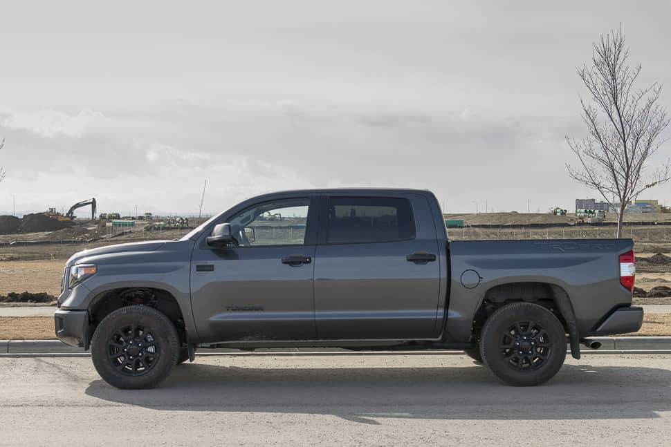 In Pictures All Blacked Out 2016 Toyota Tundra Trd Pro