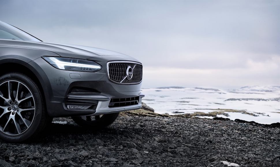 New 2017 Volvo V90 Cross Country Shows Its Adventurous Side