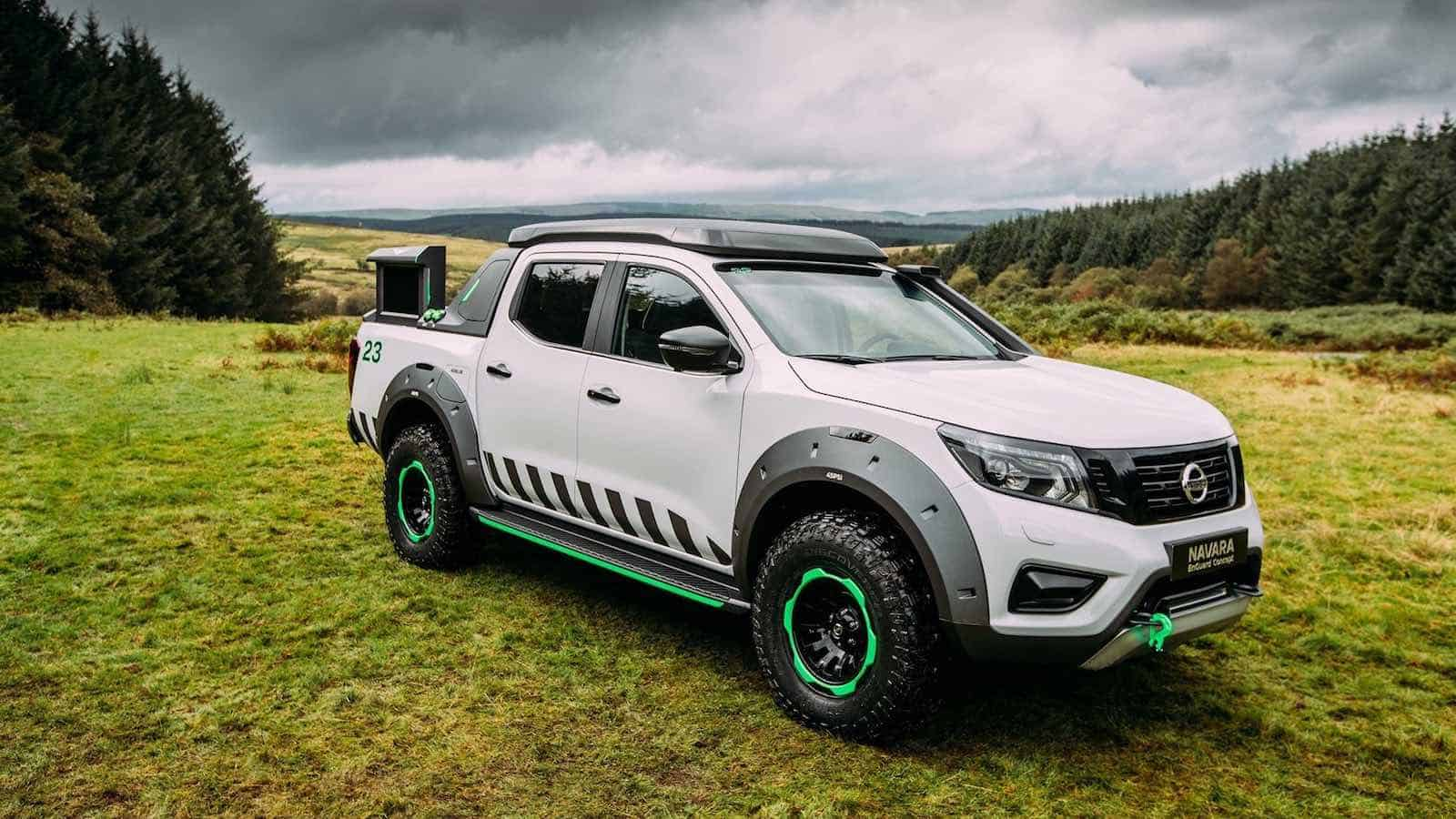 The Nissan Navara Enguard Concept: Taking rescue trucks to another level