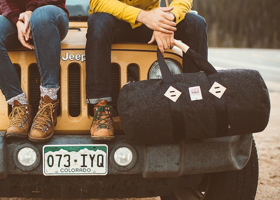 topo x woolrich duffel bag 1