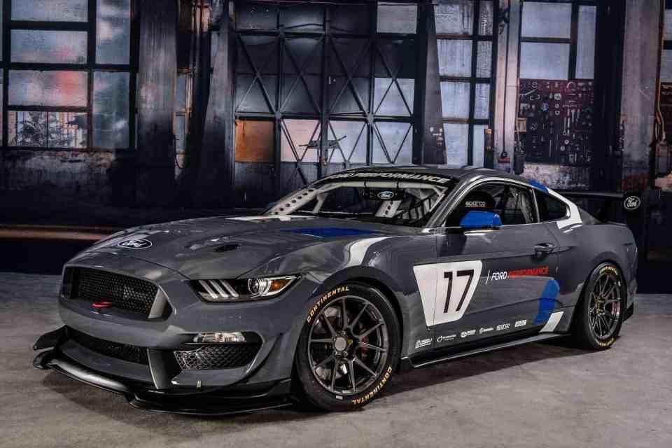 Global Mustang GT4 Race Car Debut at 2016 SEMA Show in Las Vegas