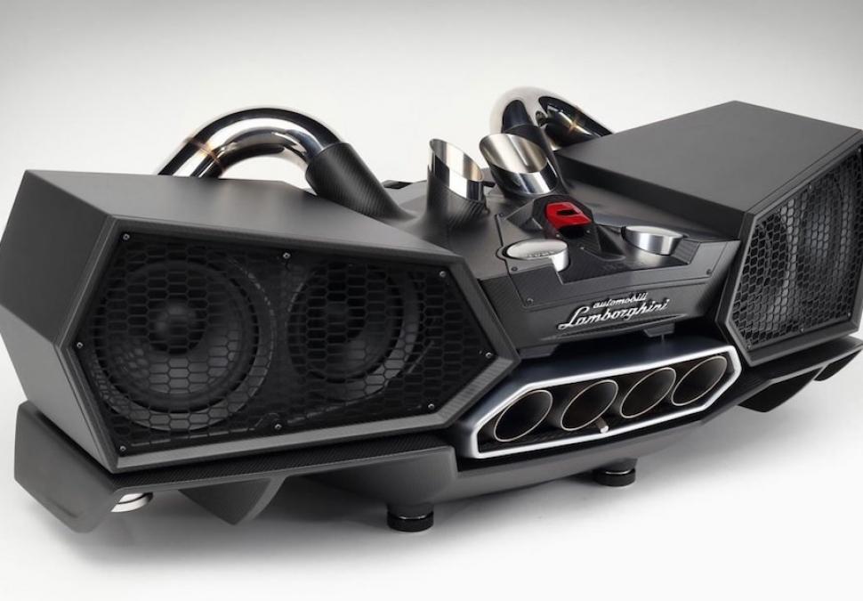 Ultimate Stereo: $24,000 Lamborghini Ixoost Esavox Speaker System