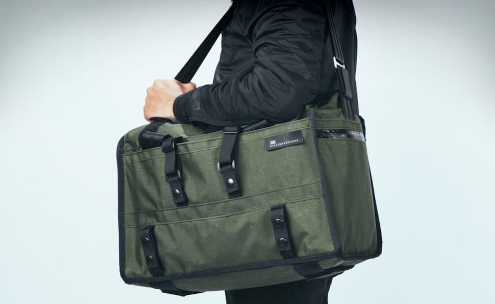The Helmsman Duffle Transit Shoulder Bag by Mission Workshop
