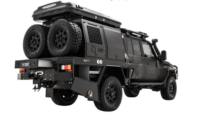 Patriot Campers Supertourer LC79 Landcruiser 79 Series rear