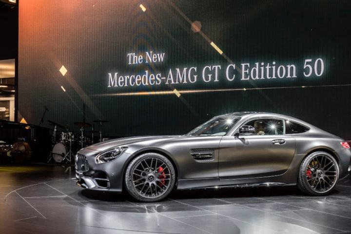 Mercedes-AMG Celebrates 50 Years with the New GT C Edition 50