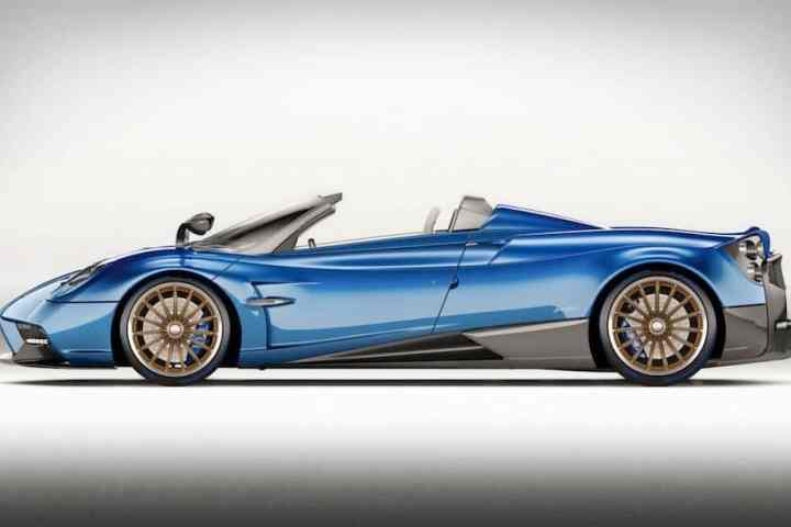 Tops Off: The Pagani Huayra Roadster Sheds Weight and a Roof