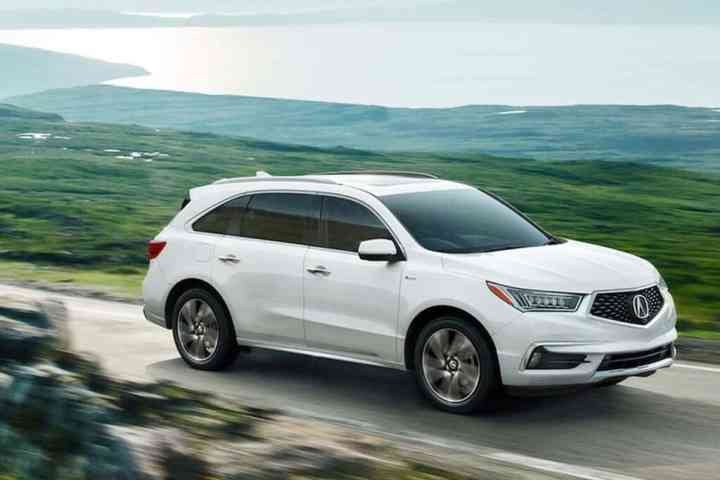 2017 Acura MDX Sport Hybrid Unveiled: First-Ever Hybrid SUV from Acura
