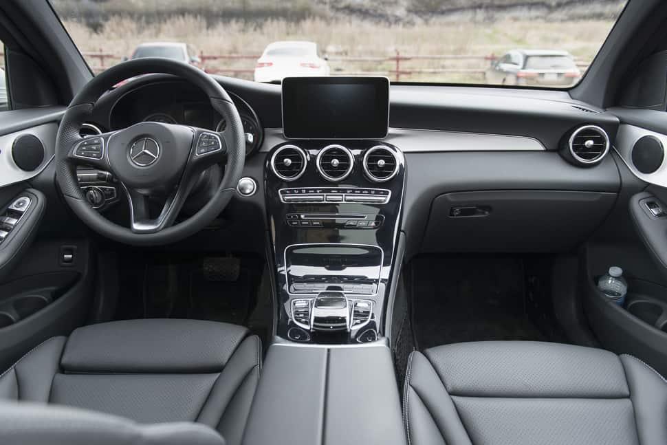 Mercedes Glc 300 Coupe >> 2017 Mercedes-Benz GLC 300 Coupe Review: SUV-Sports Car Complex