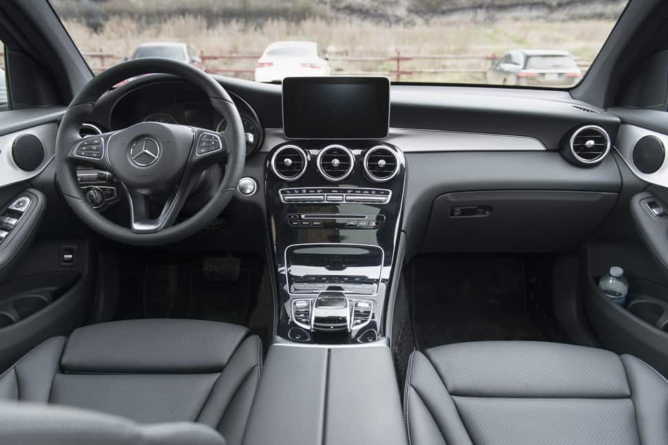 2017 mercedes-benz glc300 coupe interior