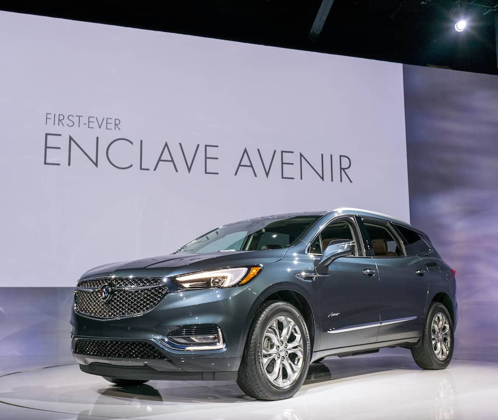 All-New 2018 Buick Enclave Avenir Debuts At New York Auto Show