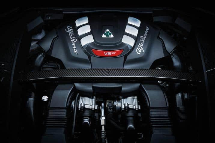 2018 alfa romeo Stelvio SUV engine