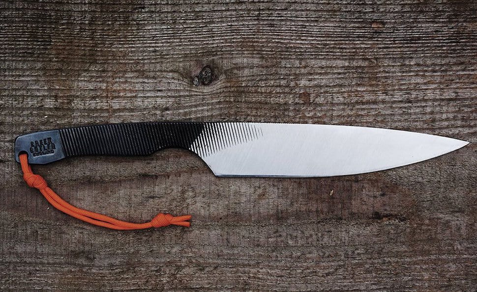 Creek Cutler Repurposed File Knives