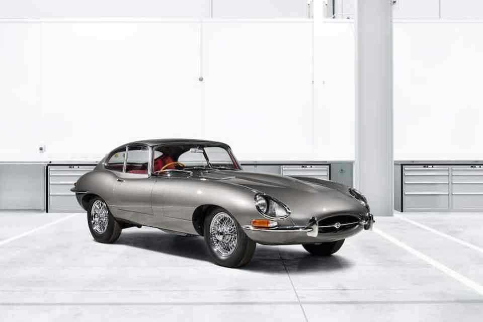 jaguar e-type reborn program