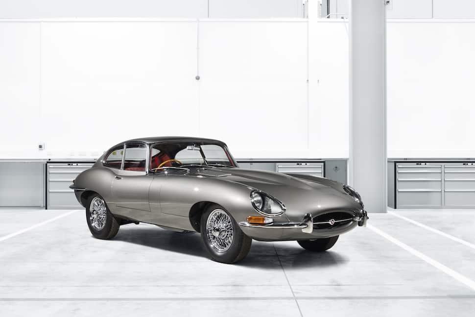 Rebirth: Jaguar Classics Launches E-Type Reborn Program