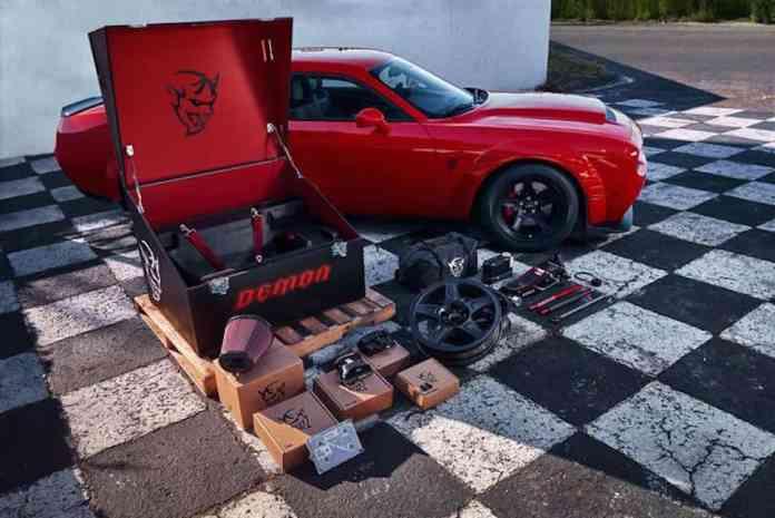 2018 Dodge Challenger SRT Demon front wheels up