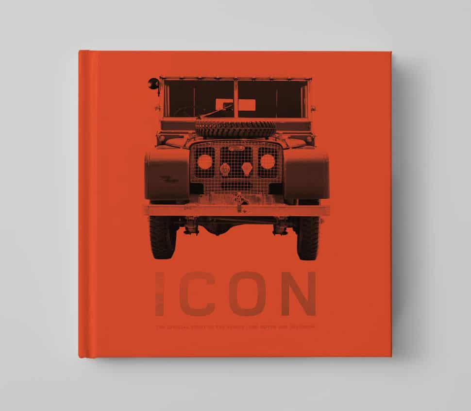 icon land rover defender book