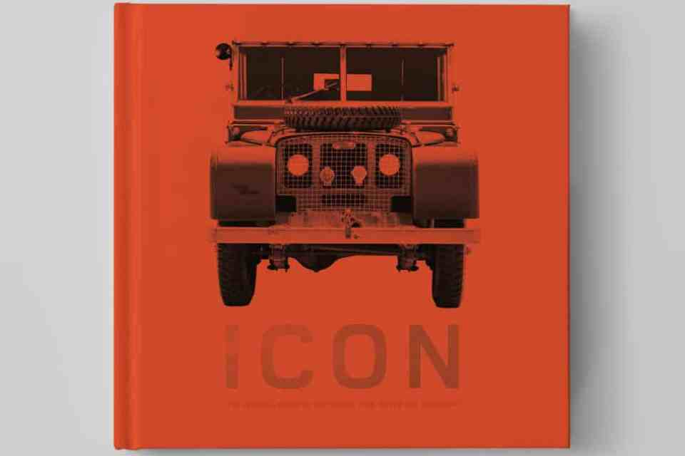 icon land rover defender book