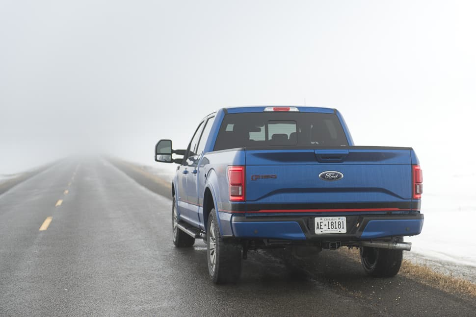 2017 ford f-150 supercrew rear