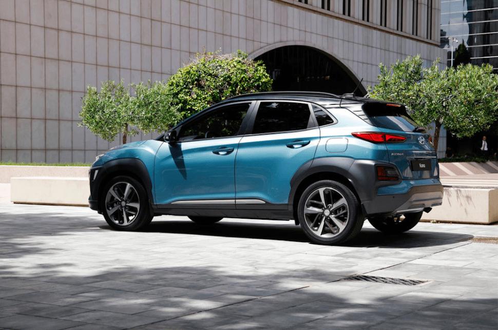 2018 Hyundai Kona rearview