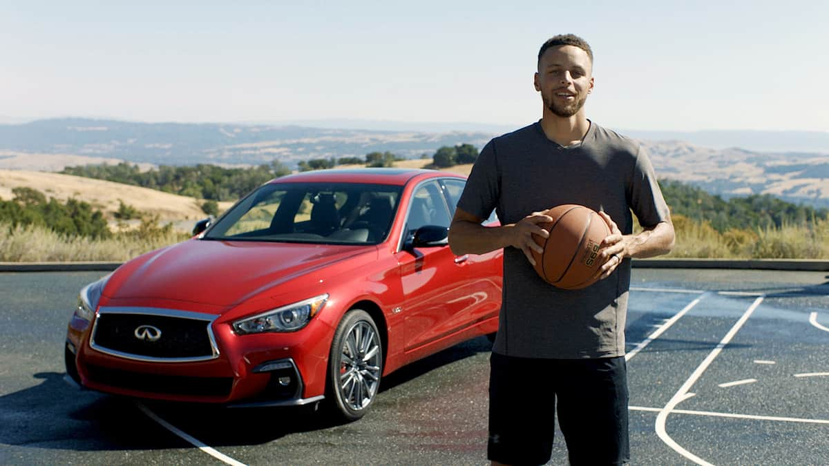 INFINITI and Stephen Curry announce global partnership