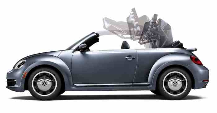 2017 VW Beetle Pink Edition Review convertible