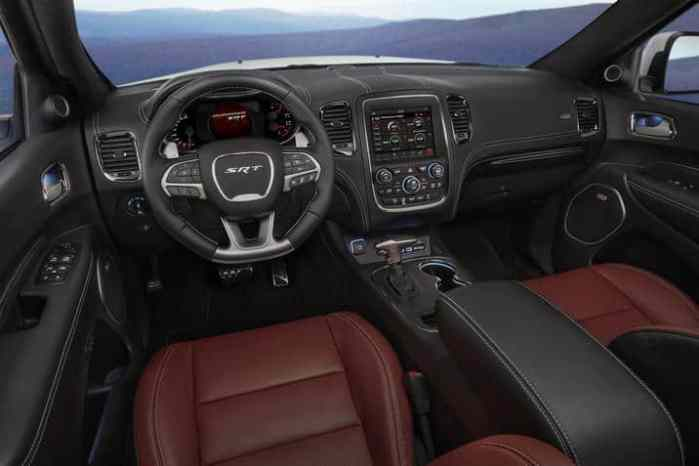 2018 Dodge Durango SRT cabin front