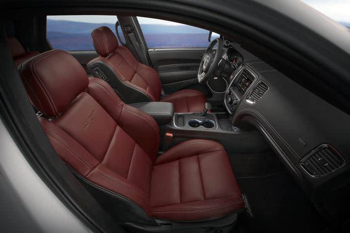 2018 Dodge Durango SRT front seats