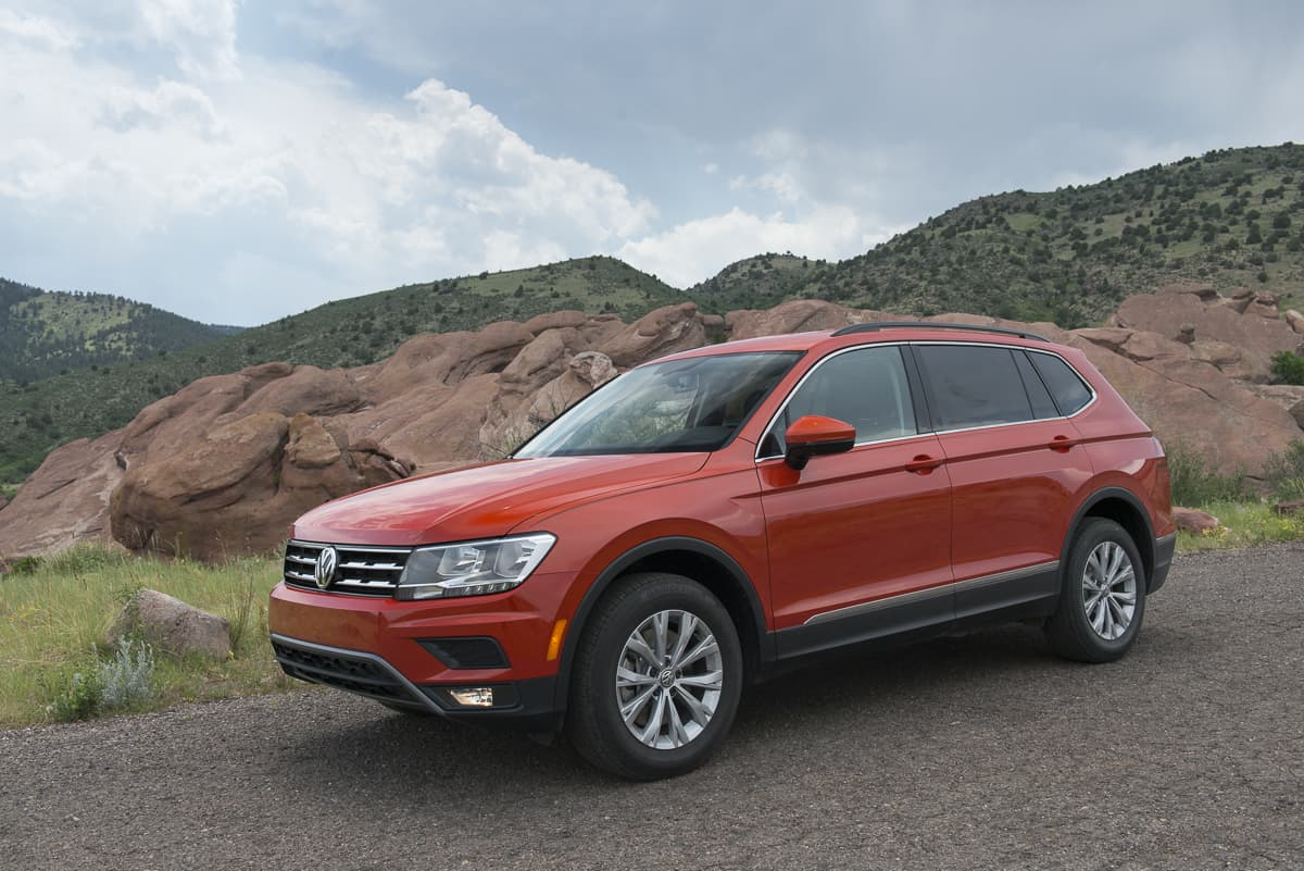 first drive 2018 volkswagen tiguan review. Black Bedroom Furniture Sets. Home Design Ideas